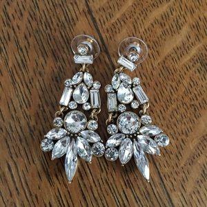 J. Crew Crystal Statement Earrings